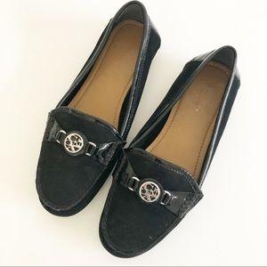Coach Fonda Slip-On Flats Loafers Moccasins 7B